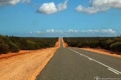Die endlosen Straßen an der Westküste