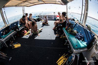 Das Briefing auf dem Boot
