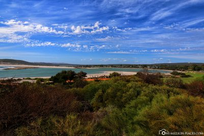 The bay of the coastal town of Kalbarri