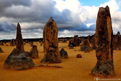 Die Kalksteinsäulen
