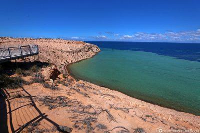 Der Aussichtspunkt Eagle Bluff