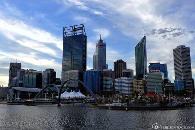 The Perth skyline