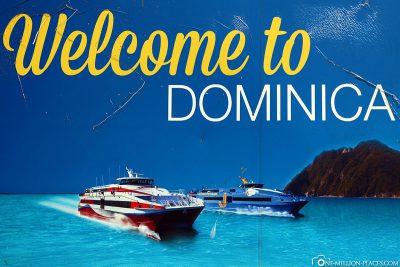 Willkommen in Dominica