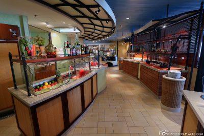 Die Auswahl im Marktrestaurant