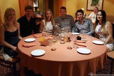 Gemeinsam Abendessen