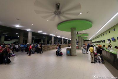 Der Flughafen in Punta Cana