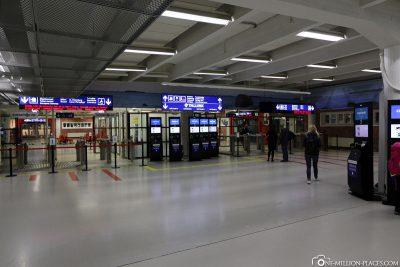 Das West Terminal in Helsinki