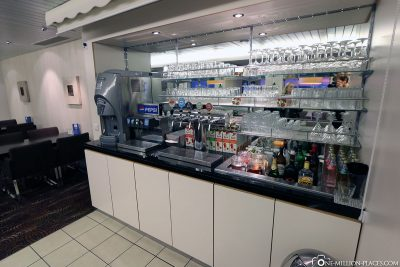 Jede Menge Getränke zur Auswahl