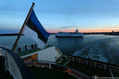Dropping off in Helsinki