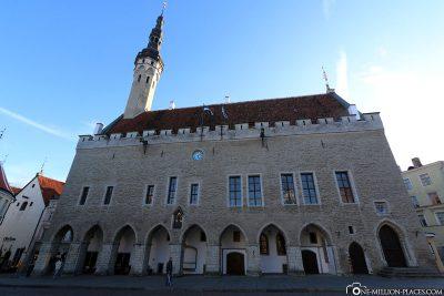 The City Hall in Tallinn