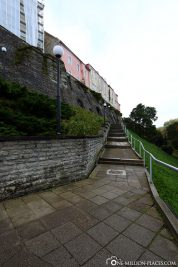 The stairs to the Domberg