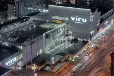 Das Einkaufszentrum Viru Keskus