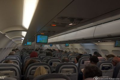 Der Flug mit Finnair