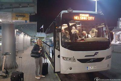 Der Finnair City-Bus