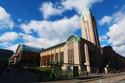 Der Hauptbahnhof in Helsinki
