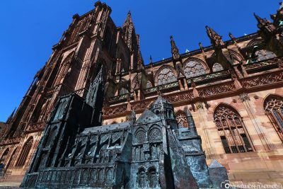 The Strasbourg Minster with miniature