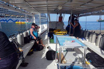 The submersible of Aquanauts Grenada