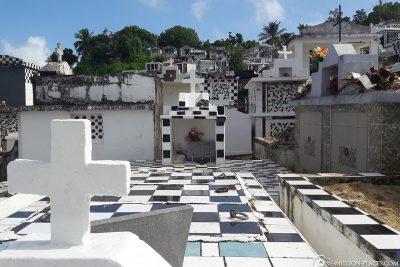 Der Friedhof in Morne-à-l'Eau