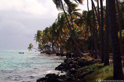 Der Strand Caravelle