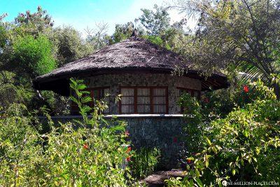 Eine Villa im Resort