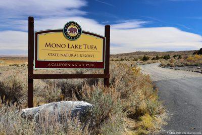 Der Mono Lake in Kalifornien