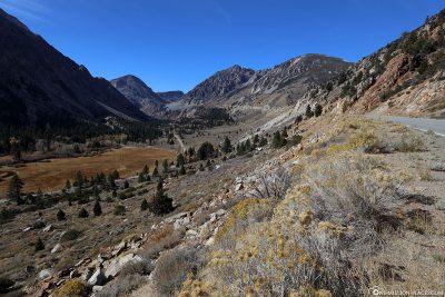 Der höchstgelegene Highway-Pass in Kalifornien