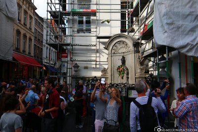 Tourist magnet Manneken-Pis