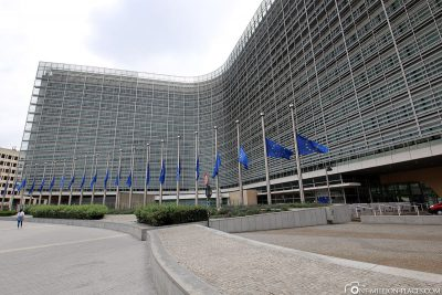 European Commission in the Berlaymont building
