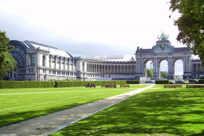 The Arc de Triomphe in the Jubilee Park
