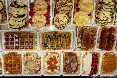 Belgian waffles in all variants