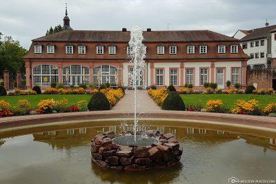 Der Lustgarten in Erbach
