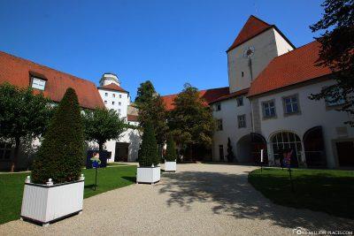 Innenhof der Veste Oberhaus