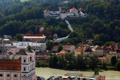 Wallfahrtskirche Mariahilf mit Kloster