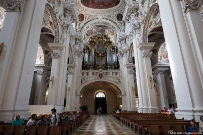 The main organ on the Westempore