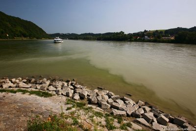 Confluence of the Inn and Danube