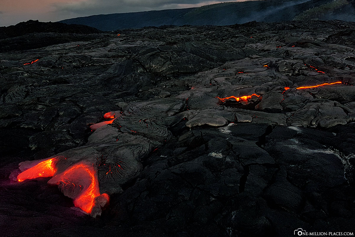 Kilauea East Rift Zone, Hawai'i Volcanoes National Park, Big Island, Hawaii, USA, EpicLava, Tour, Reisebericht