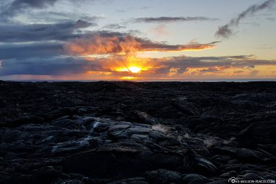 Sonnenaufgang auf Big Island
