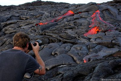 Lava Hike with EpicLava Tours