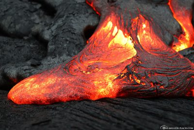 Lava on Big Island