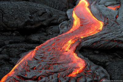 Lavastrom auf Big Island