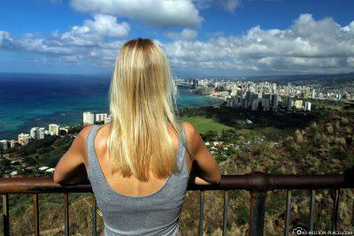 Die Aussicht vom Diamond Head