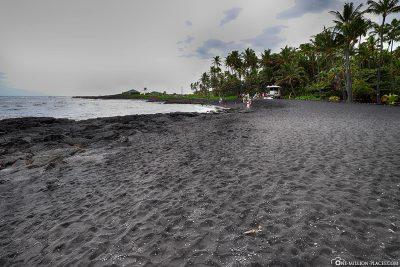Der schwarze Strand
