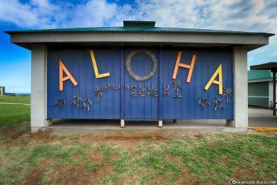 Aloha Punaluu Beach