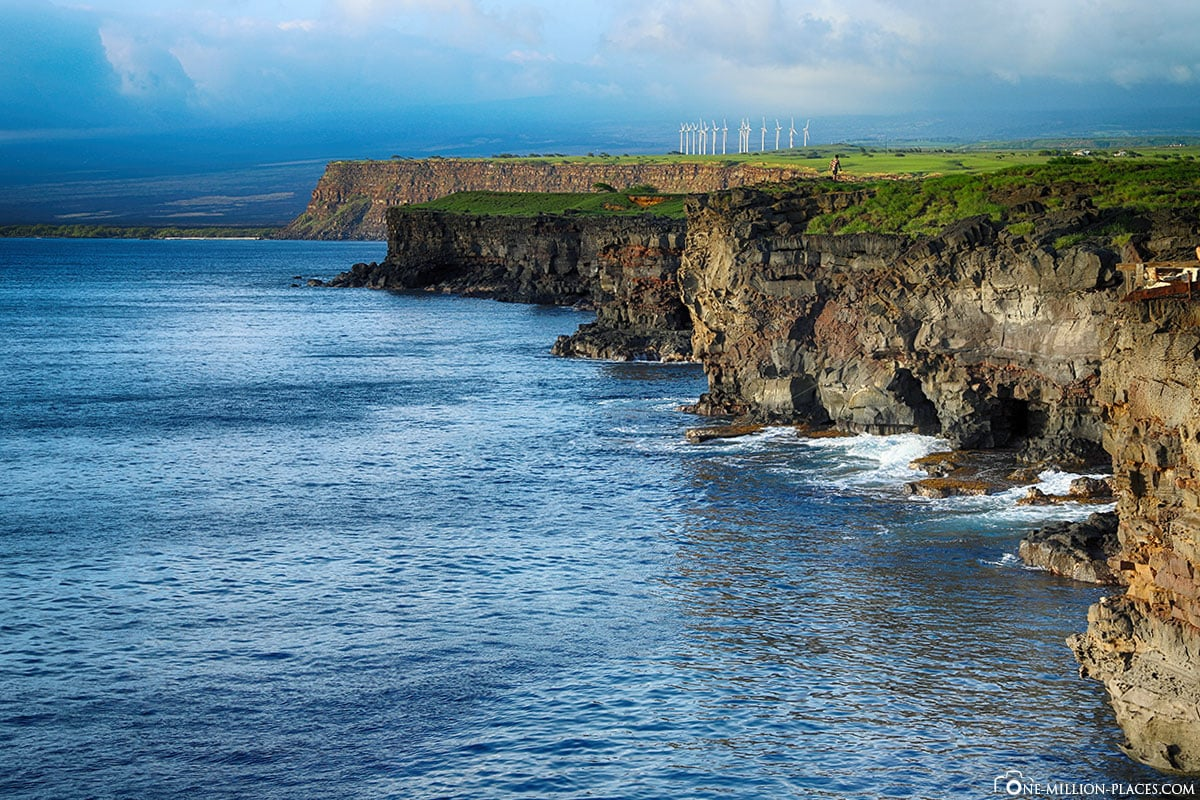 Ka Lae, South Point, Heiau, Big Island, Hawaii, USA, Reisebericht
