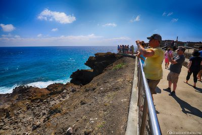 The Halona Blowhole Lookout