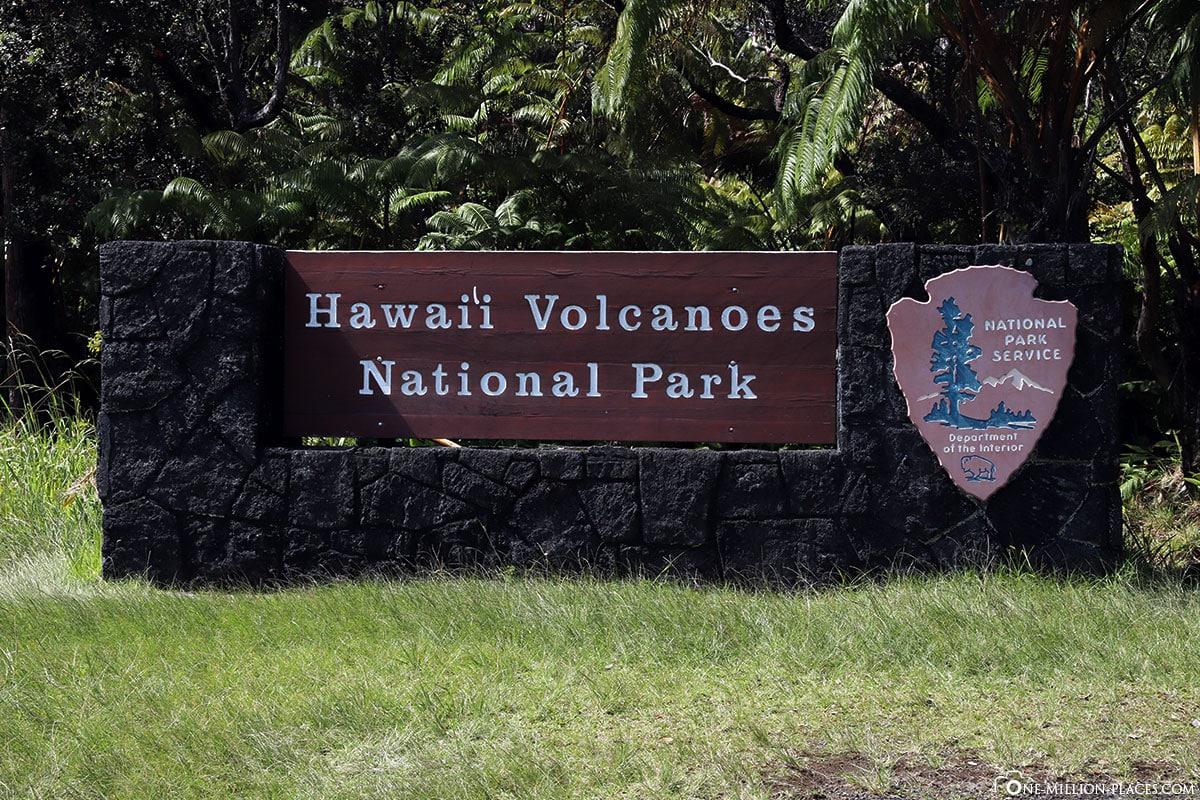 Hawaii Volcanoes National Park, Big Island, Hawaii, USA, Travel Report
