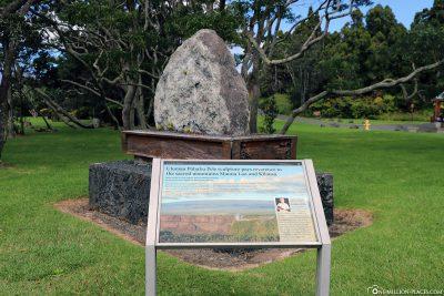 Ulumau Pohaku Pele Sculpture