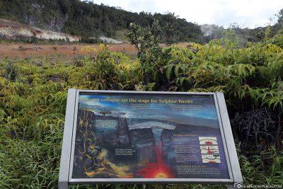 The Sulphur Banks in Hawaii Volcanoes NP