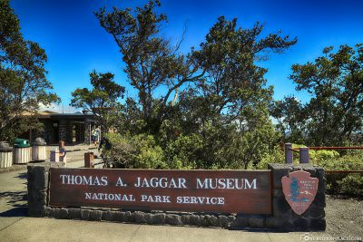 Entrance to the Thomas A. Jaggar Museum