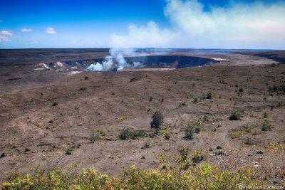 The Caldera of the Kolauea Volcano